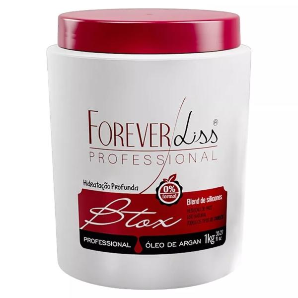 Btoxx Capilar Argan Oil Sem Formol 1kg - Forever Liss