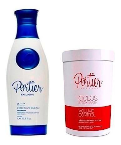 Btox Ciclos + shampoo Anti-resíduo Portier
