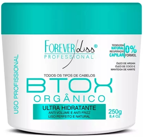 Btoxx Orgânico Sem Formol 250g Foreverliss