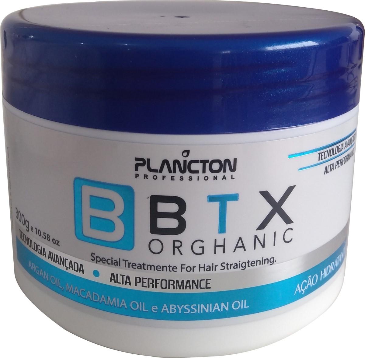 Btx Organico Plancton 300g - Sem Formol