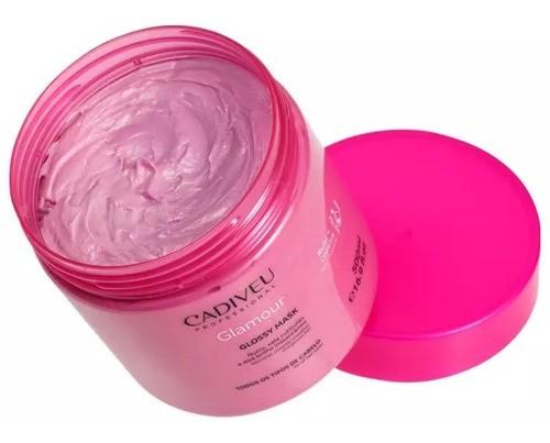 Cadiveu Professional Glamour Rubi Glossy - Máscara 500ml