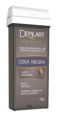 Cera Roll-on Negra Oil 100g Corporal - Depilart