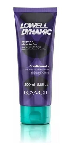 Condicionador Lowell Dynamic 200ml
