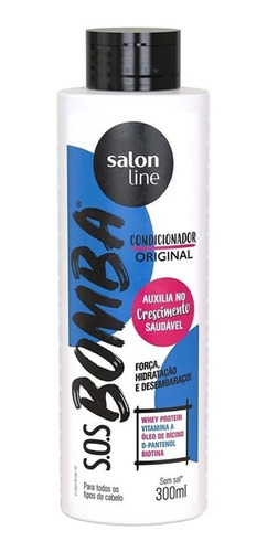 Condicionador S.o.s Bomba De Vitaminas 300ml - Salon Line