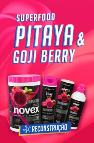 Creme De Tratamento Novex Superfood Pitaya E Gojiberry 400g