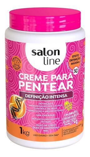 Creme Para Pentear Definição Intensa 1kg Salon Line