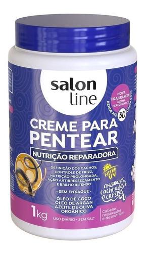 Creme Para Pentear Nutrição Reparadora 1kg Salon Line