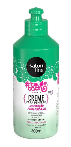 Creme Para Pentear Tô De Cacho Salon Line Definição Prolonga