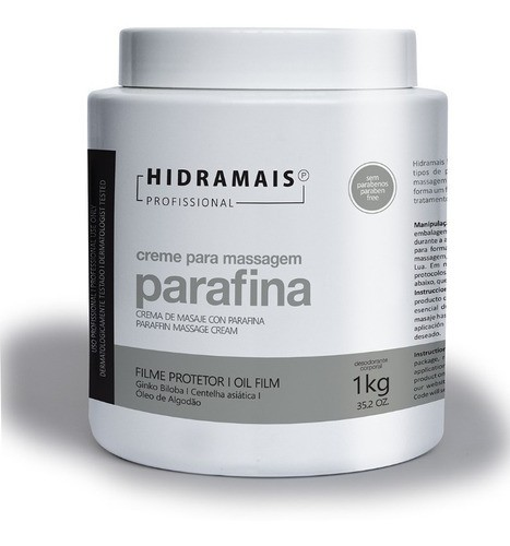 Cremes Hidramais Parafina 1kg