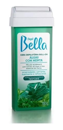 Depil Bella Cera Roll-on Algas Com Menta 100g