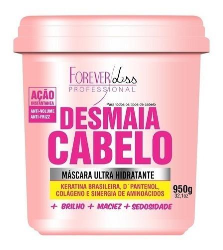 Desmaia Cabelo 950g + 2 Banho De Verniz 1kg