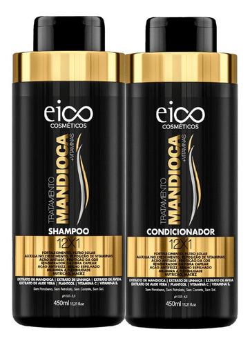 Eico Tratamento Mandioca Shampoo 450ml + Condicionador 450ml
