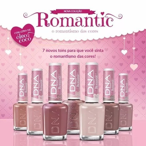 Esmalte Linha Romantic 10ml - Honey - Dna Italy