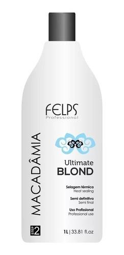 Felps Progressiva Macadâmia Ultimate Blond 1 Litro