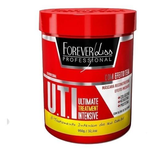 Forever Liss Btx Zero 1kg Sem Formol + Máscara Uti 950g