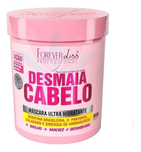 Forever Liss Cresce Cabelo 1kg + Desmaia Cabelo 950g