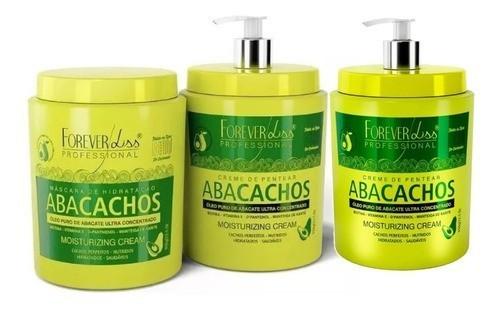 Forever Liss Kit Cachos Abacachos C/ 2 Creme De P. 3x950g