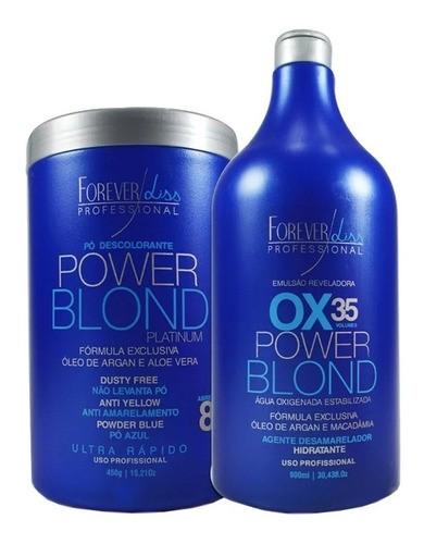 Forever Liss Kit Descoloração Power Blond Ox 35 Vl E Pó 450g