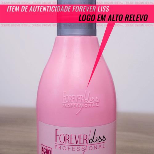 Forever Liss Kit Desmaia Cabelo Completo E Sos Original