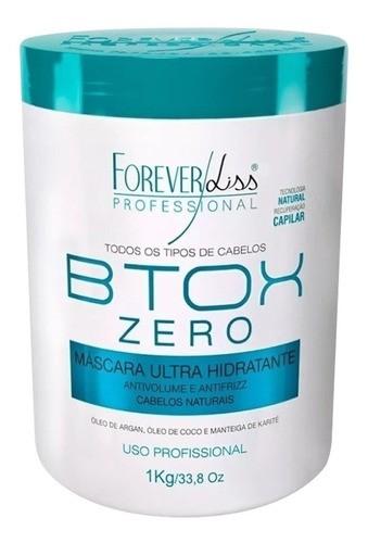 - Forever Liss Kit Platinum Blond + Btx Zero 1kg Sem Formol