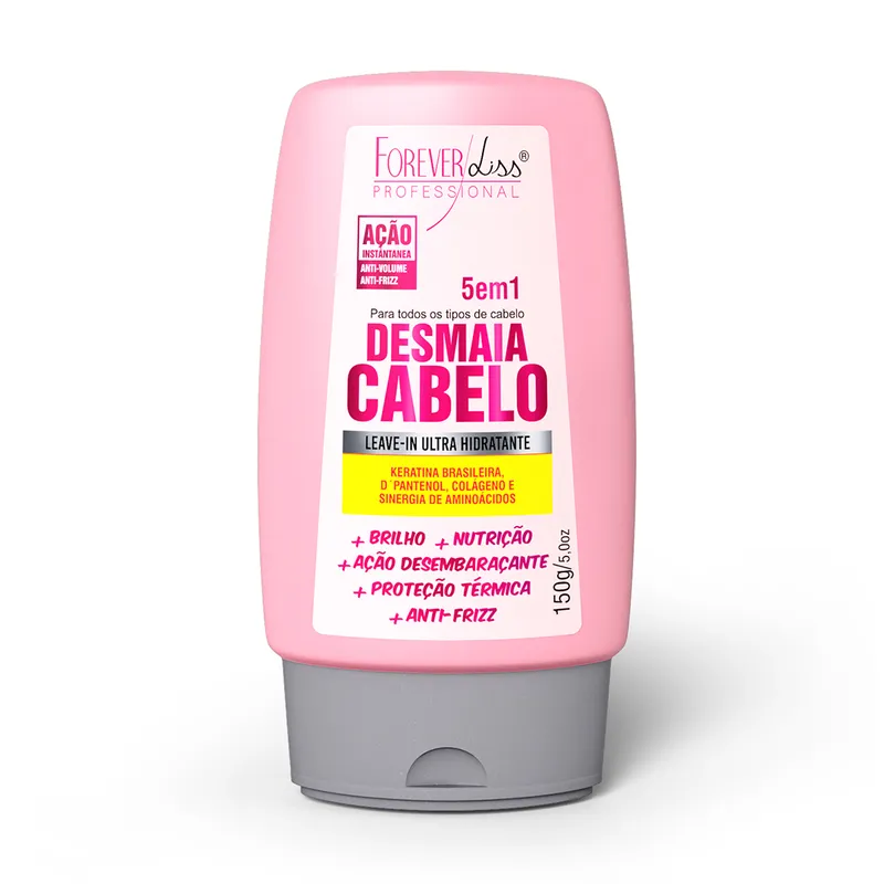 Forever Liss Leave In Ultra Hidratante Desmaia Cabelo 150g
