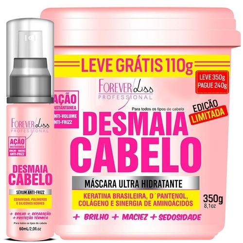 Forever Liss - Máscara Desmaia Cabelo 350g e Sérum 60ml