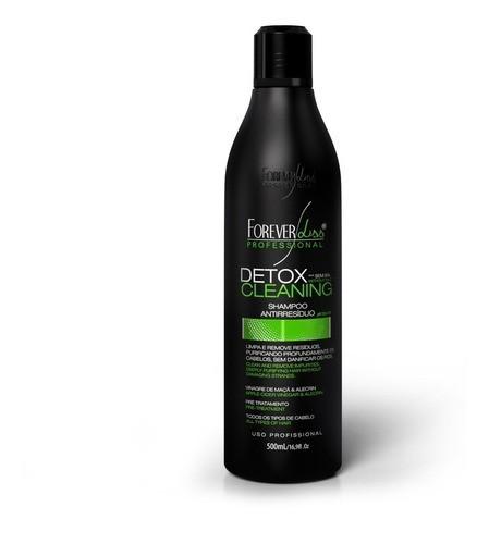 Forever Liss Progressiva Zero Formol 1l Shampoo Anti Resíduo