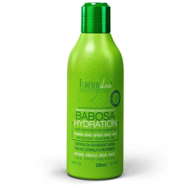 Forever Liss Shampoo Hidratante Babosa 300ml