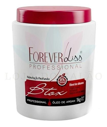 Foreverliss Btx Argan Oil 1kg e Mascaras Anabolizante 1kg Alto Impacto 1kg