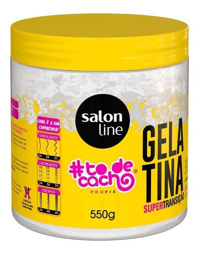 Gelatina #todecacho Transição Capilar Salon Line 550g