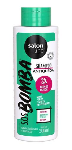 Kit Antiqueda Shampoo E Condicionador Sos Bomba - Salon Line