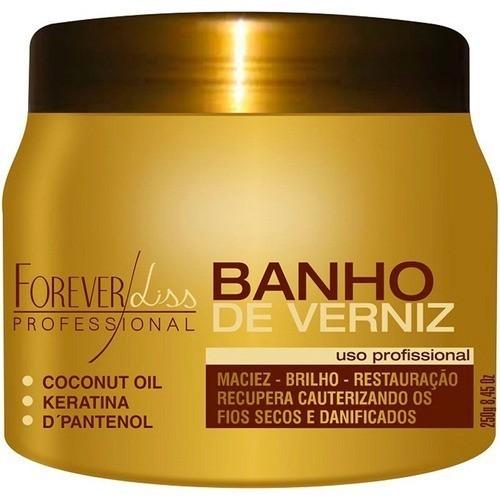Kit Banho De Verniz 250g E Anabolizante 240g Forever Liss