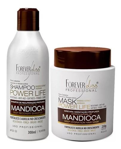 Kit Completo Mandioca Shampoo + Mascara 250g