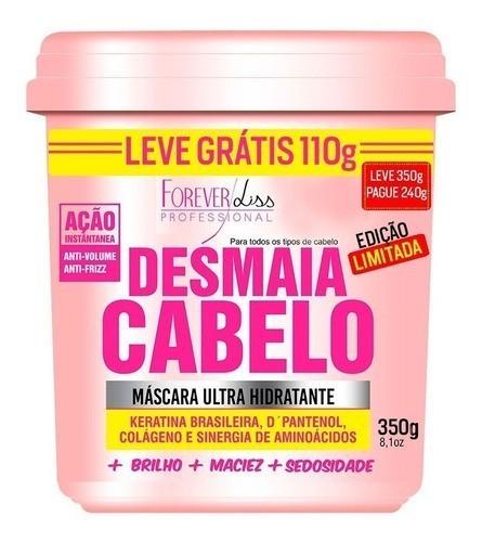 Kit Desmaia Cabelo Máscara 350g + Shampoo + Condicionador + Leave-in