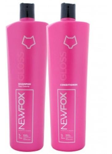 Kit Escova Progressiva New Fox Gloss 2x1L