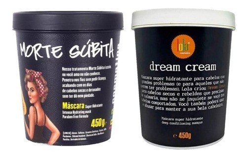 Kit Morte Súbita + Dream Cream Lola Cosmetics 450g