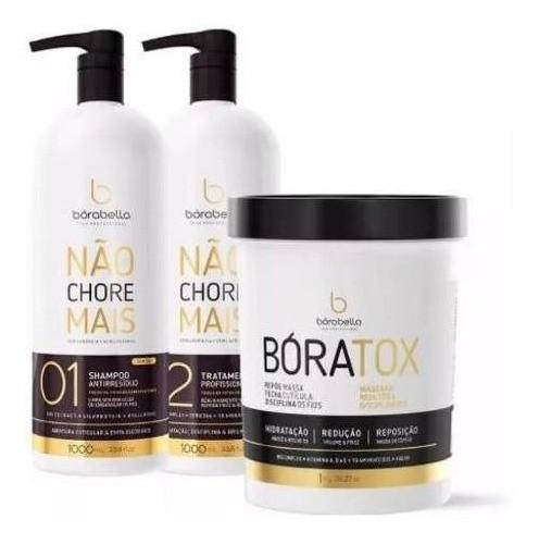 Kit Progressiva Borabela Nao Chores Mais + Btox Boratox 1kg