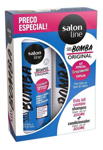 Kit Shampoo + Condicionador Sos Bomba Original 200ml