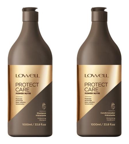Lowell Protect Care Power Nutri Lançamento Sh 1l + Cond 1l