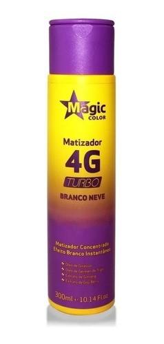 Magic Color - Matizador 4G Turbo Branco Neve 300ml
