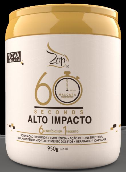 Mascara Alto Impacto 60 Segundos 950g - Mega Hidratacao - Zap