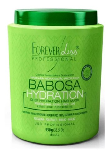 Mascara Babosa Hidratacao Profunda 950g Forever Liss