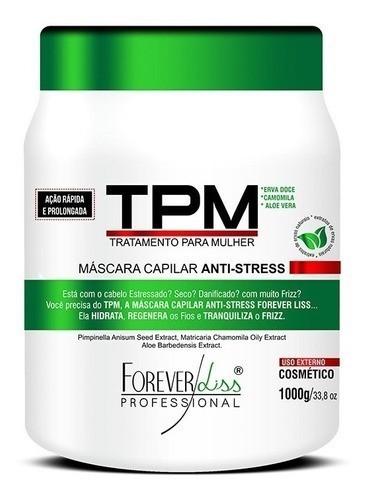 Máscara Capilar Tpm Anti Stress - Forever Liss 1kg