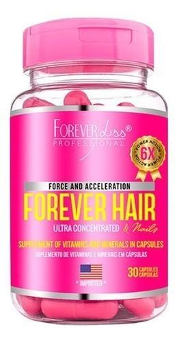 Mascara Cresce Cabelo 1 Kg Forever Hair 30 Cap - Forever Liss