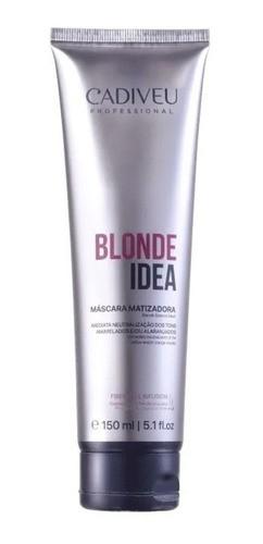 Mascara Matizadora Blonde Idea 150ml - Cadiveu