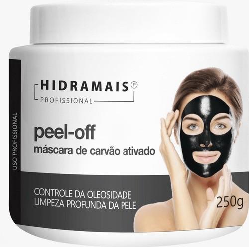 Mascara Peel-off Carvão Ativado 250g Hidramais - Todo tipo de piel