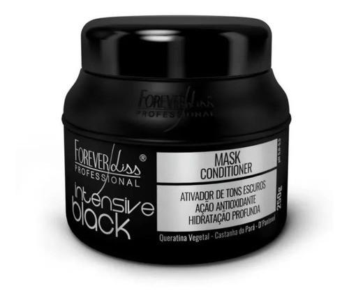 Mascara Tonalizante Intensive Black 250g Forever Liss