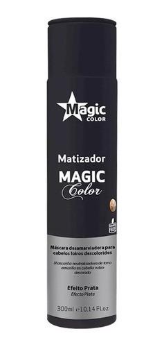 Matizador Tradicional Efeito Prata 300ml - Magic Color