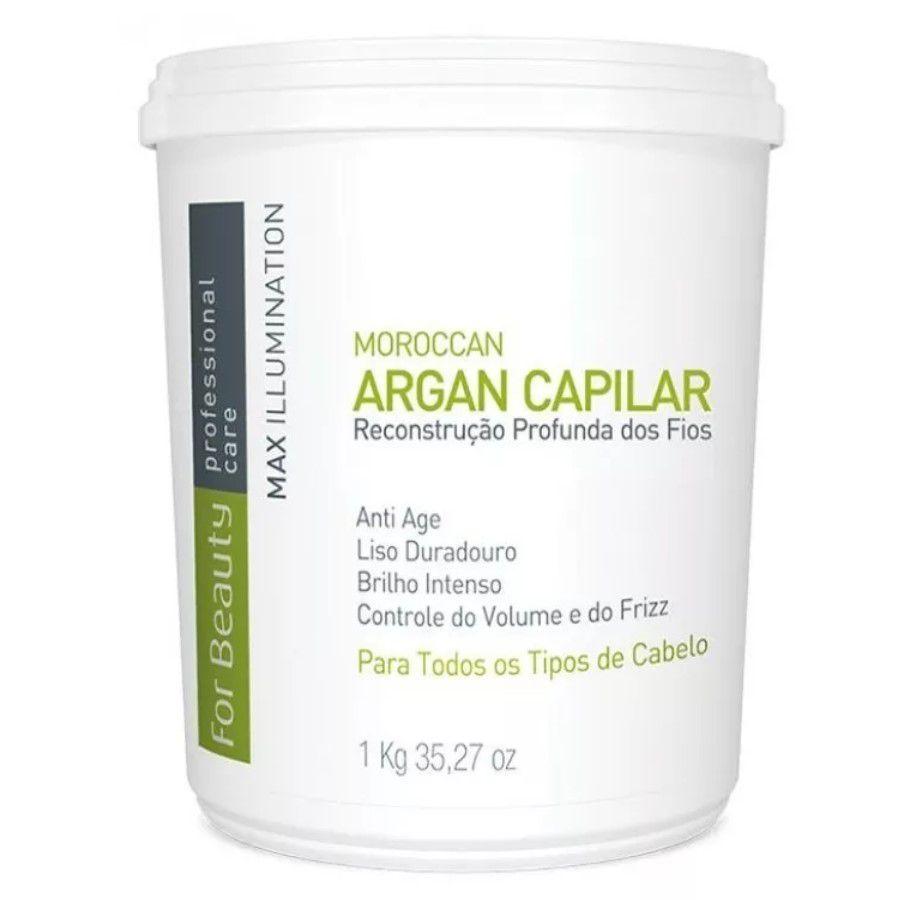 Moroccan Argan Capilar Max Illumination For Beauty 1kg