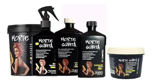 Morte Súbita Lola Kit 4 Produtos + Shampoo Solido 100g